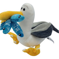 "Disney Parks Finding Nemo Mine Mine Seagull 9"" Plush New With Tags"