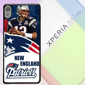 New England Patriots W3015 Sony Xperia XA1 Ultra Case