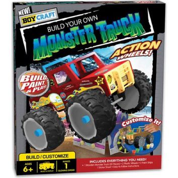 Boy Craft Build Your Own Monster Truck Kit by Horizon
