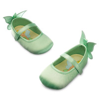Disney Store Tinkerbell Baby Costume Dress Shoes w/ Wings Size 6 12 18 24 Months