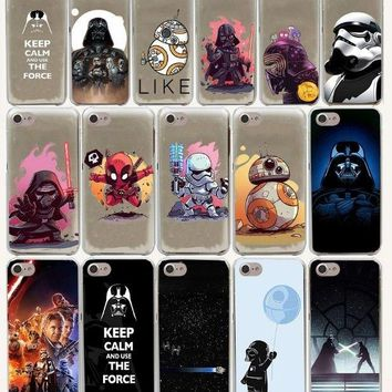 Star Wars Hard Phone Cover Case for iphone 5 6 7 8 plus X