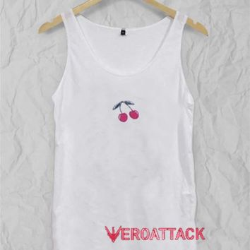 Cherry New Adult Tank Top Men And Women