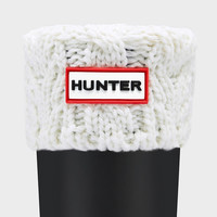 Kids' Cable Knit Boot Socks | Official Hunter Boots Site