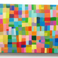 Abstract Painting / ORIGINAL PAINTING/ Geometric by tushtush