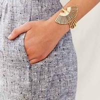 TORCHLIGHT Brass Thunderbird  Cuff- Gold One