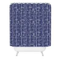 Caroline Okun Recumbent Shower Curtain