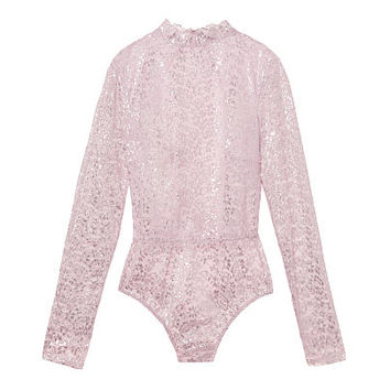 Metallic Lace Bodysuit - Dream Angels Wicked - Victoria's Secret