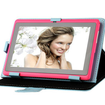 US Stock! 9.7 Inch Tablet Cases PU Leather Stand Smart Cover Case for 9.7 Inch Tablet PC Folding Folio