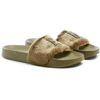 FENTY Unisex Fur Slide Sandals, buy it @ www.puma.com