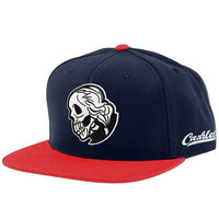 The Dead Presidents Snapback in Navy/Red