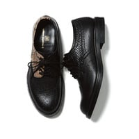 uniform experiment | PRODUCT | PYTHON WING TIP SHOES