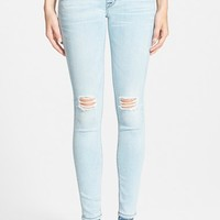 Women's Hudson Jeans 'Nico' Distressed Skinny Stretch Jeans ,