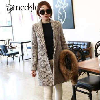 Straight Cut Classic Wool Coat