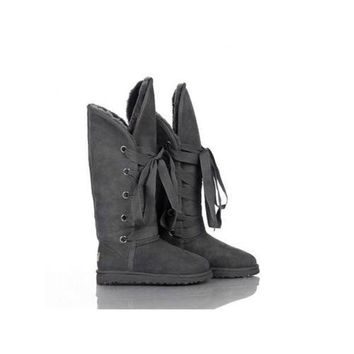 Gotopfashion Ugg Boots Outlet Black Friday Roxy Tall 5818 Grey For Women 87 62