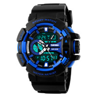 Luxury Brand LED Electronic Digital Watch 5ATM Waterproof Outdoor Watches
