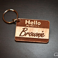"Personalized Pet Engraved ID Tag - ""Hello My Name is.."" for pets"