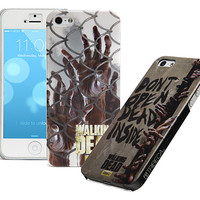 Walking Dead iPhone Cases - Zombies Clawing At Fence
