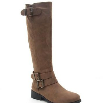 Tall Buckled Boots