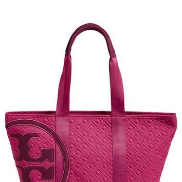 Tory Burch 'Small Penn' Quilted Zip Tote | Nordstrom