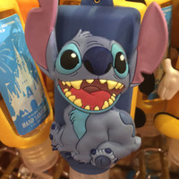 disney parks keychain keyring hand sanitizer stitch 1oz new with tags