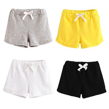 MUQGEW kids clothing Summer Children Cotton Shorts Boys And Girl Clothes Baby Fashion Pants summer boys beach pant shorts 0526
