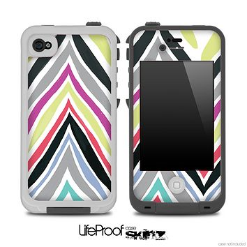 Wild Vintage Chevron Pattern Skin for the iPhone 5 or 4/4s LifeProof Case