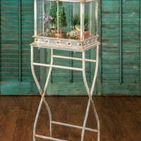 Large Terrarium With Stand