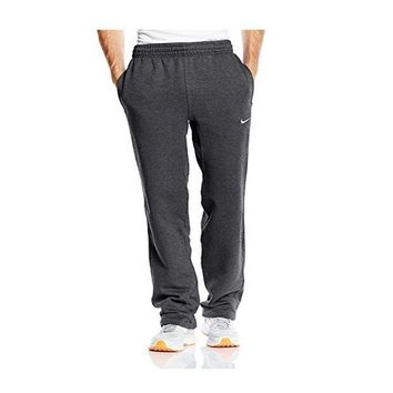 DCCKI6V Nike Men's Club Fleece Pants Heather Grey 826424 063 (m)