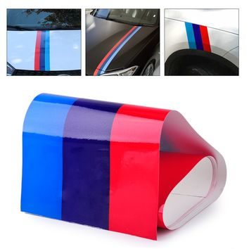 DWCX Car Styling M-Colored Stripe Decal