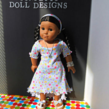 "Breezy 13 piece ensemble for 18"" dolls like American Girl Dolls"