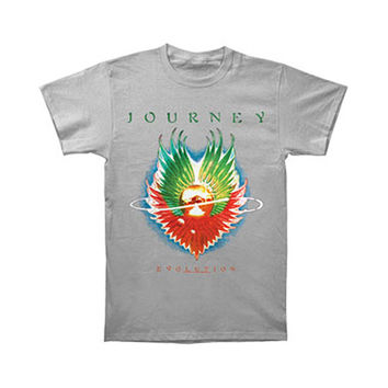 Journey Men's  Evolution T-shirt Silver