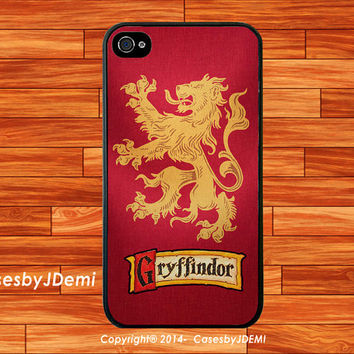 Harry Potter Gryffindor- iPhone 4 /4S, iPhone 5 /5c/ 5s, Samsung Galaxy S3/S4 case, Samsung Galaxy Note2 /Note3 case, Galaxy S3/S4 mini case