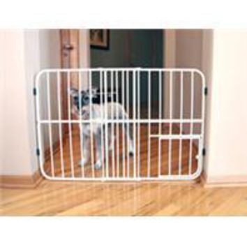 Carlson Pet Products - Tuffy Expandable Pet Gate With Door