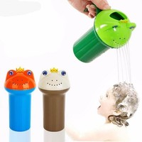 Babies Bath Shower Frog Cup