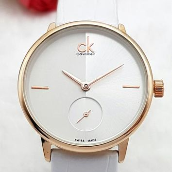 CK 2019 new women's simple and versatile quartz watch 3