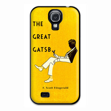 The Great Gatsby Book Cover Samsung Galaxy S4 Case
