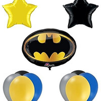 Batman Birthday Party Balloon Supplies