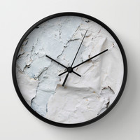 Texture paint Wall Clock by Tony Vazquez