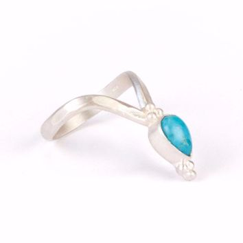 Venus Ring | Silver / Turquoise