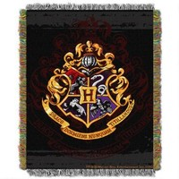 Exclusive Hogwarts Crest Tapestry Throw | HarryPotterShop.com