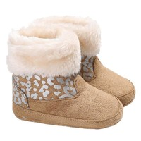 New Winter Baby Girls First Walkers Shoes