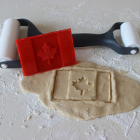 Canada Flag Cookie Cutter - Perfect for Canada Day, Canadian Celebration, Victoria Day, School Canada Citizenship Theme Party Occasions