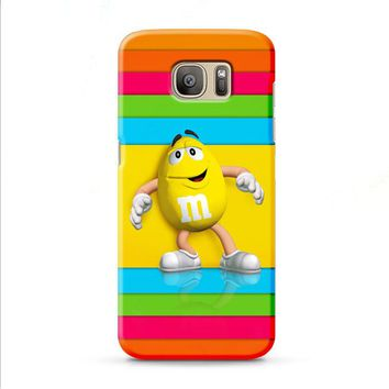 M&M's Yellow Candy Rainbow Samsung Galaxy J7 2015 | J7 2016 | J7 2017 case