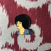 Angela Davis Lapel Pin