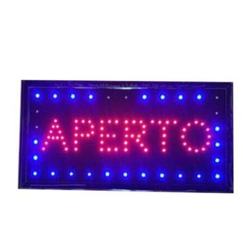 Neon Lights LED Animated Open Sign Customers Attractive Sign  Shop Sign