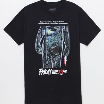 ESBONDI5 Friday The 13th Forest Poster T-Shirt