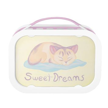 Dreaming Kitten Lunch Box