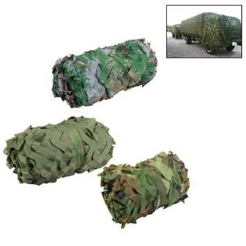 3m*2m Hunting Military Camouflage Net Woodland Army Camo netting Camping Sun ShelterTent Shade sun shelter