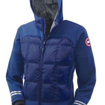 Canada goose Men Winter fashion to keep warm Hooded Short down jacket