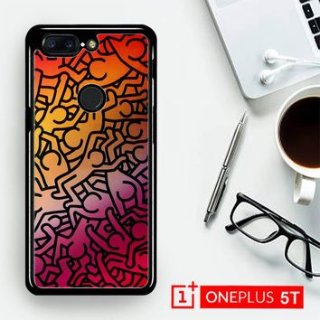 Keith Haring Colors Go Back Z1290  OnePLus 5T / One Plus 5T Case